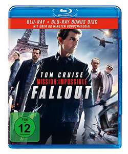Mission: Impossible - Fallout (Blu-ray + Bonus Disc) für 7,97€ (Amazon Prime & Dodax)