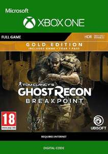 Ghost Recon Breakpoint: Gold Edition Xbox One Download Code