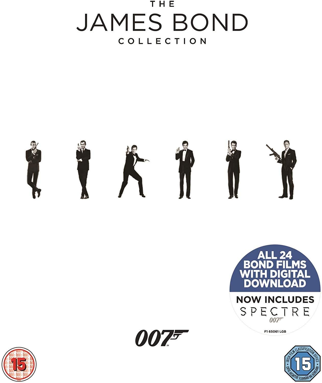 James Bond Blu-ray Collection 1-24 für 48,48€