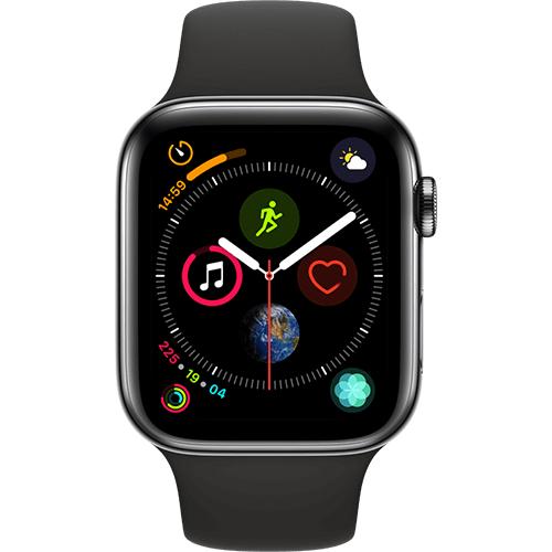 Apple Watch Series 4 GPS + Cellular, 44mm, Edelstahl oder Series 5, 40mm, Edelstahl für 529€