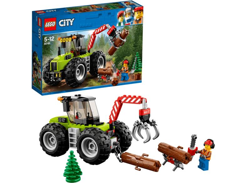 LEGO City Forsttraktor für 9,99 € (Mediamarkt] & Ninjago 70638 & Technic 42073 für 9,99 € [SATURN]