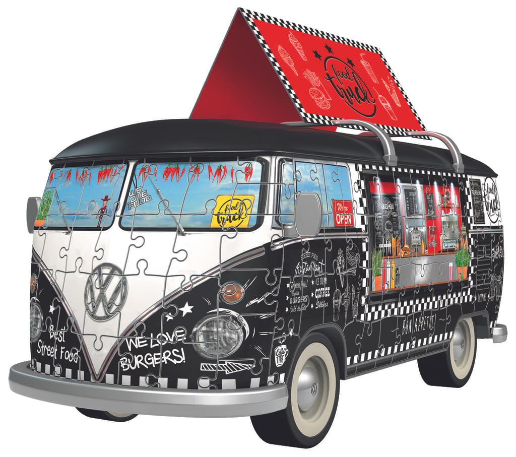 Volkswagen T1 - Food Truck Ravensburger 12525 3D Puzzle