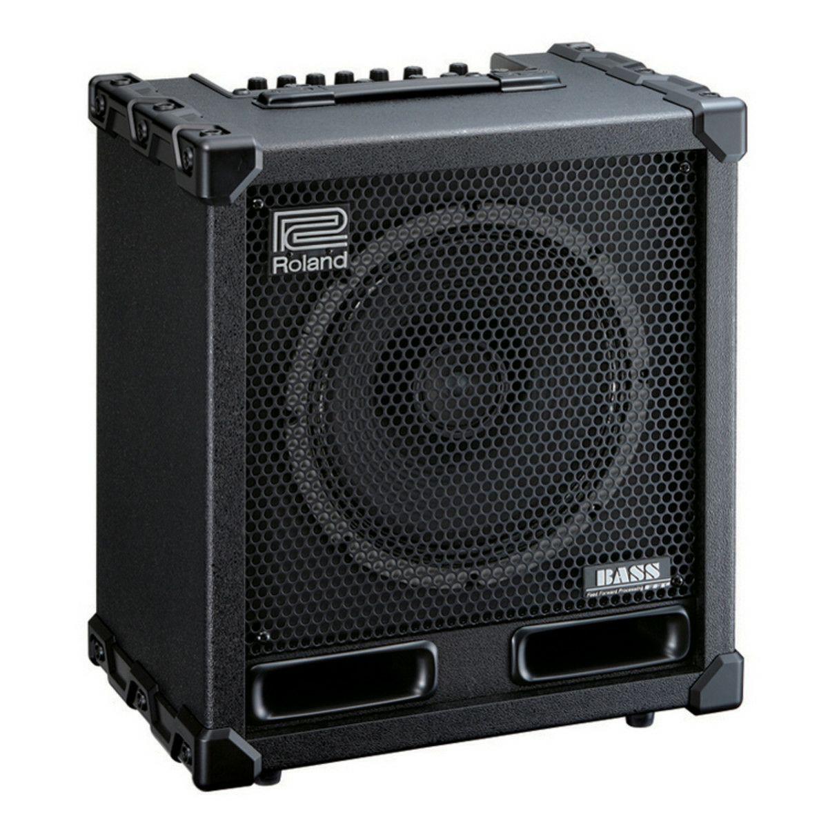 Roland Cube-120-XL Cube Bassverstärker (120W, 30cm Koaxiallautsprecher, 8x CMOS-Verstärker, Phrase Looper)