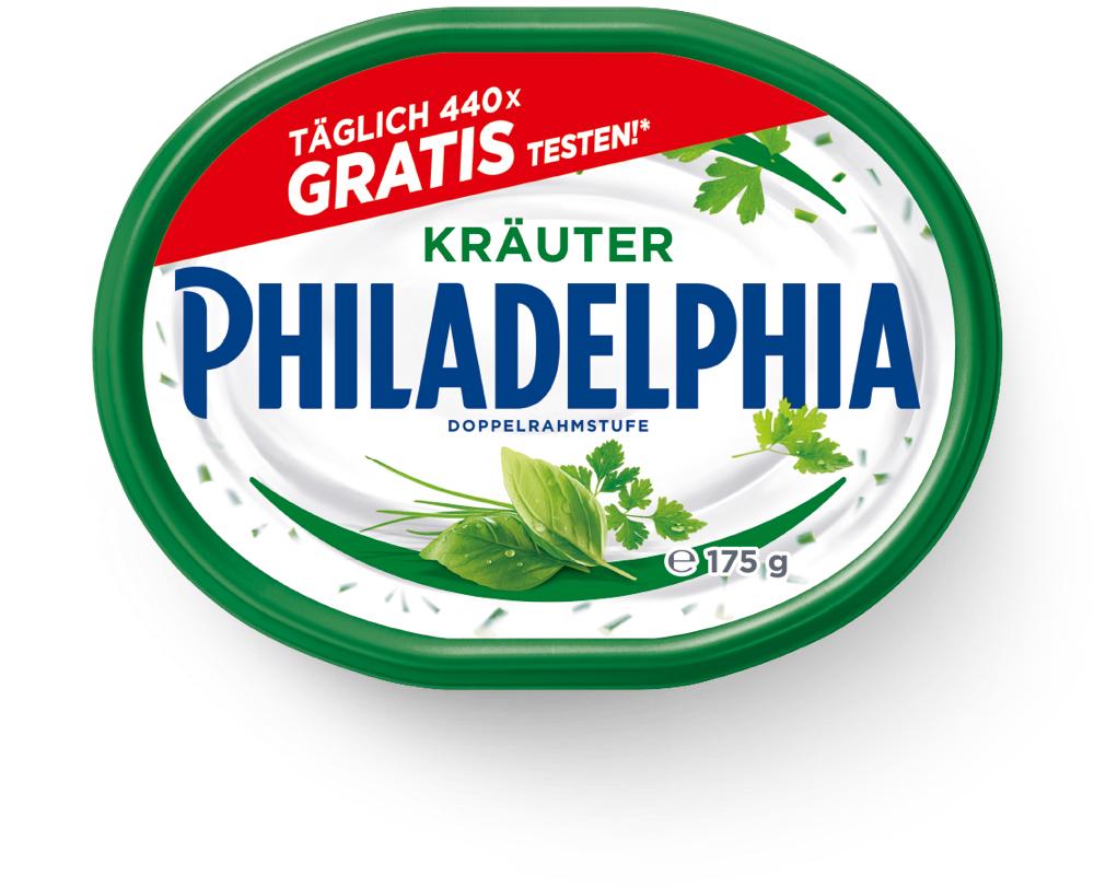 [GzG] Philadelphia Kräuter - Täglich 440 Teilnahmen - Zeitraum 01.10.2019 - 31.12.2019