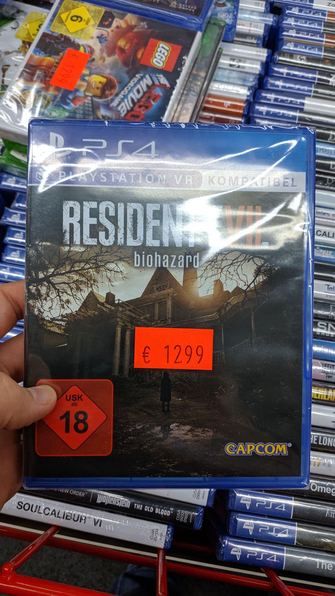 Resident Evil 7 PS4 / Lokal Media Markt Neuss