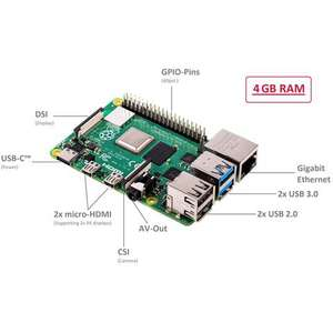 [CONRAD] Raspberry Pi 4 Computer Modell B, 4GB RAM für 56,94 inkl. Versand