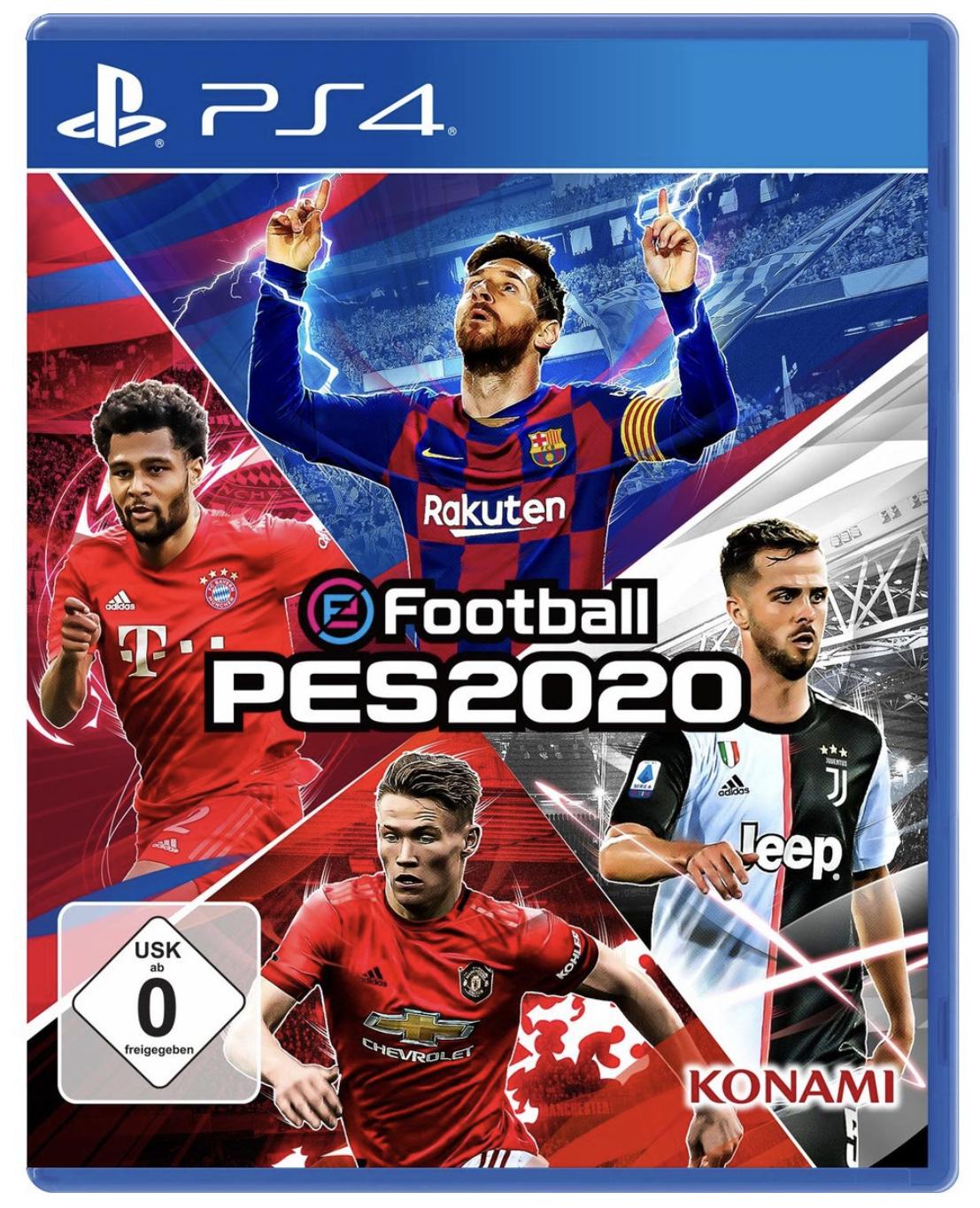 eFootball PES 2020 PS4 für 39,99€ inkl. Versandkosten