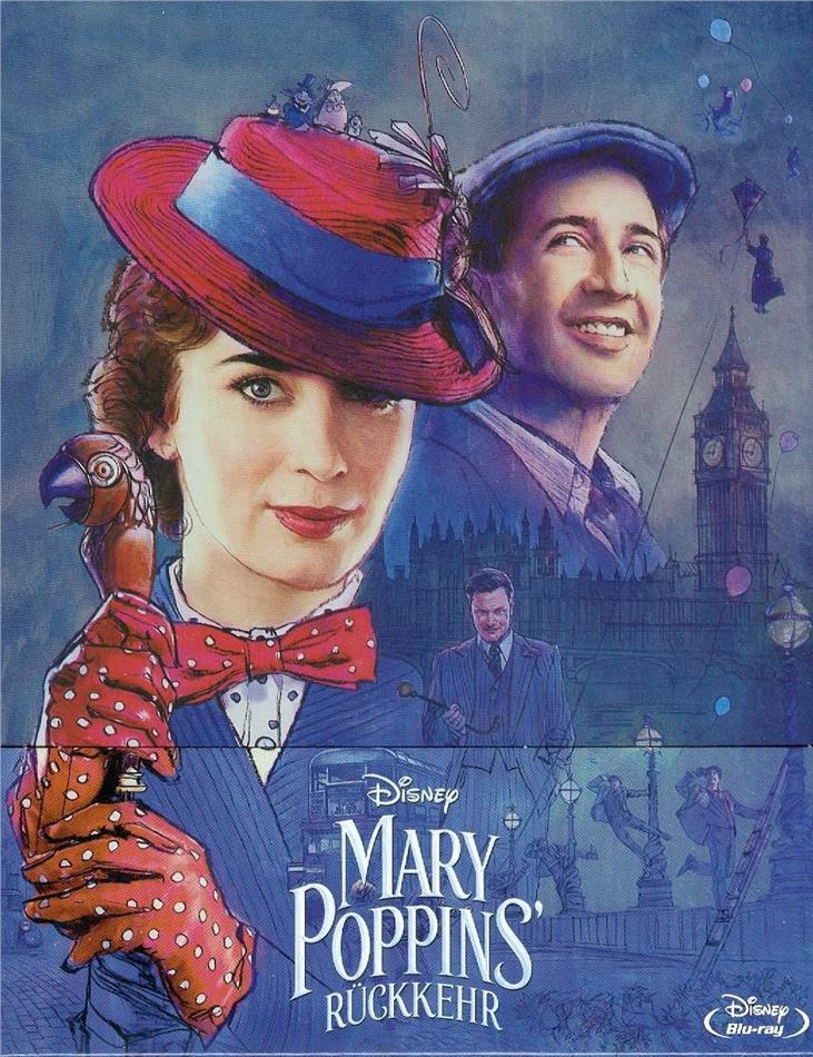 Mary Poppins' Rückkehr - Limited Edition Steelbook (Blu-ray) für 13,49€ (Cede)