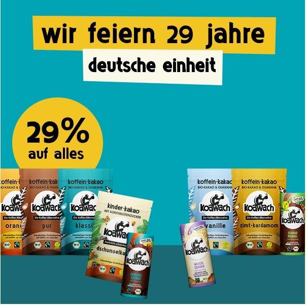 Koawach 29% Rabatt