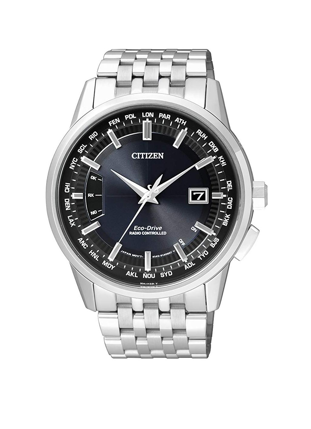 Citizen CB0150-62L Funk Solar Sapphir