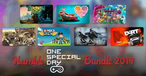 HUMBLE ONE SPECIAL DAY BUNDLE 2019 (Steam) ab 0,92€