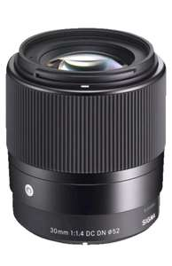Sigma 30mm 1.4 DC DN Sony E-Mount  Micro-Four-Thirds