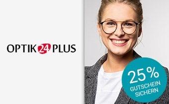 25% Gutschein auf alle Brillen bei Brille24.de