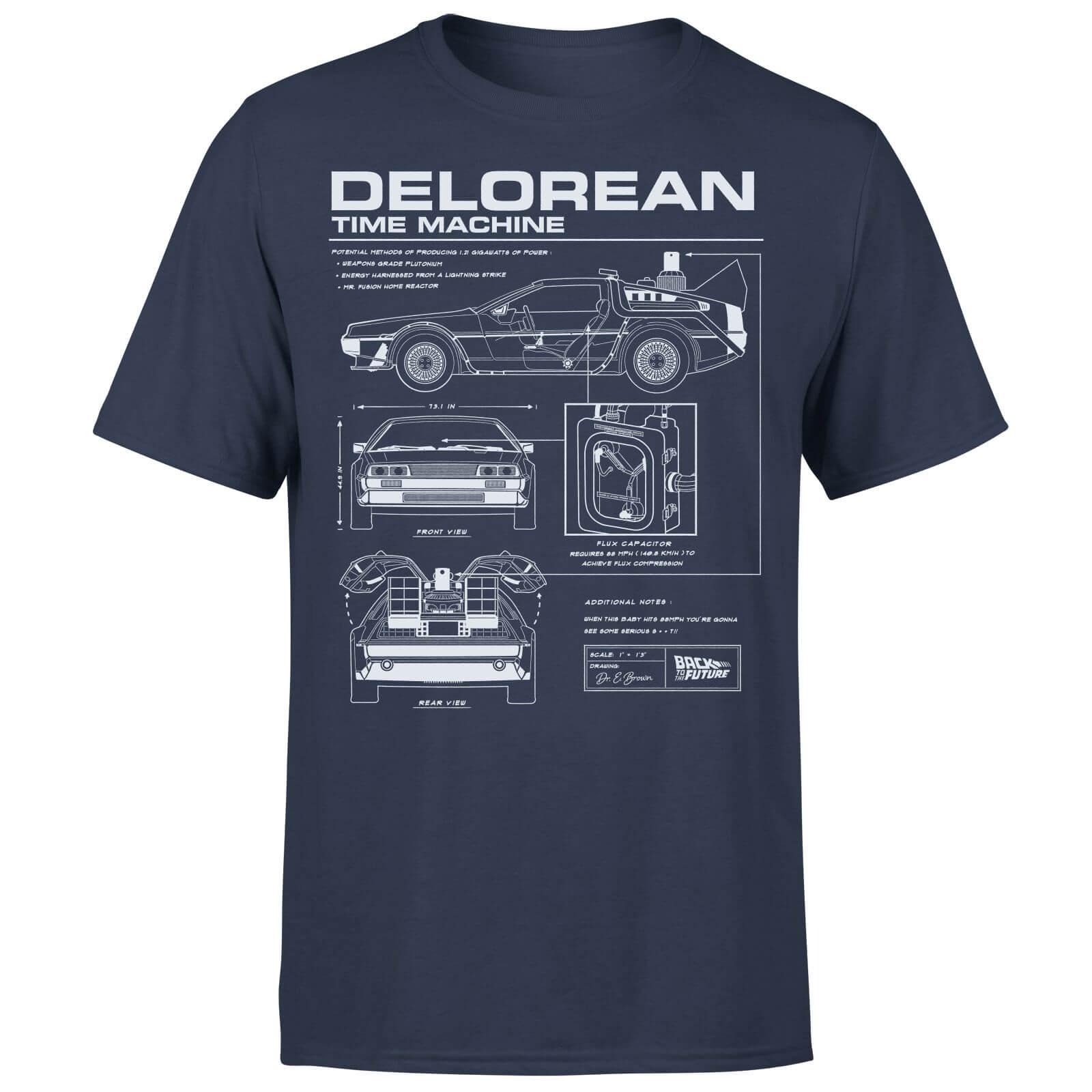 [SOWIA] Zurück in die Zukunft DeLorean T-Shirt