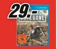 [Regional Mediamarkt Dresden CG] Days Gone (PS4) für 29,-€ Kombinierbar mit 10% Clubrabatt (26,10€)