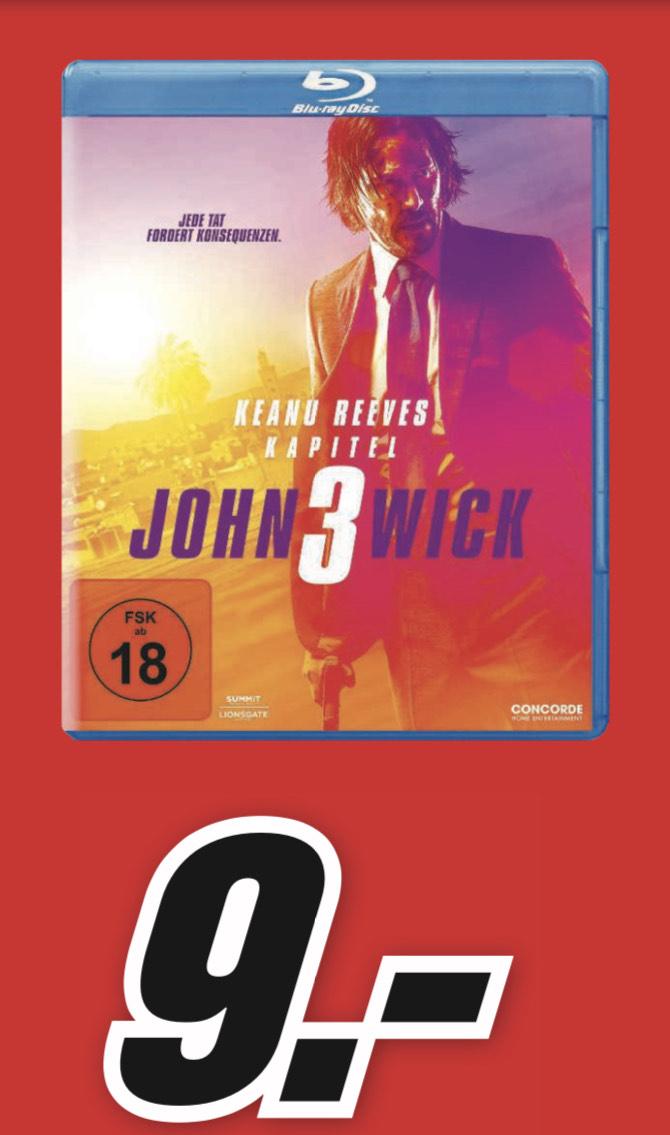 (MM H'rath) John Wick Kapitel 3 Blu-ray für 9,- € evtl. 7,65€