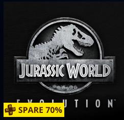 Jurassic World Evolution PS4 für 14,99 € (PS-Plus) sonst 17,99 € im PSN-Store