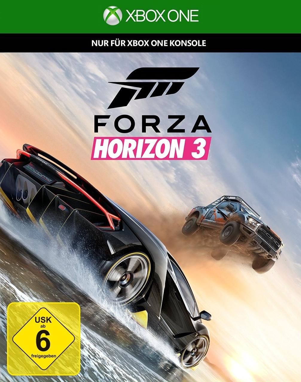Forza Horizon 3 (Xbox One) für 15€ (Amazon Prime)