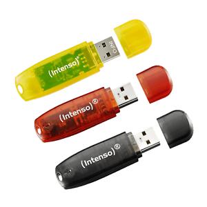 INTENSO 3er Pack, USB-Stick, USB 2.0, 16 GB