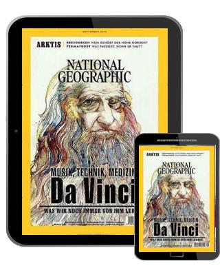 National Geographic Abo (12 ePaper Ausgaben) für 49,96 € mit 45 € BestChoice Universalgutschein