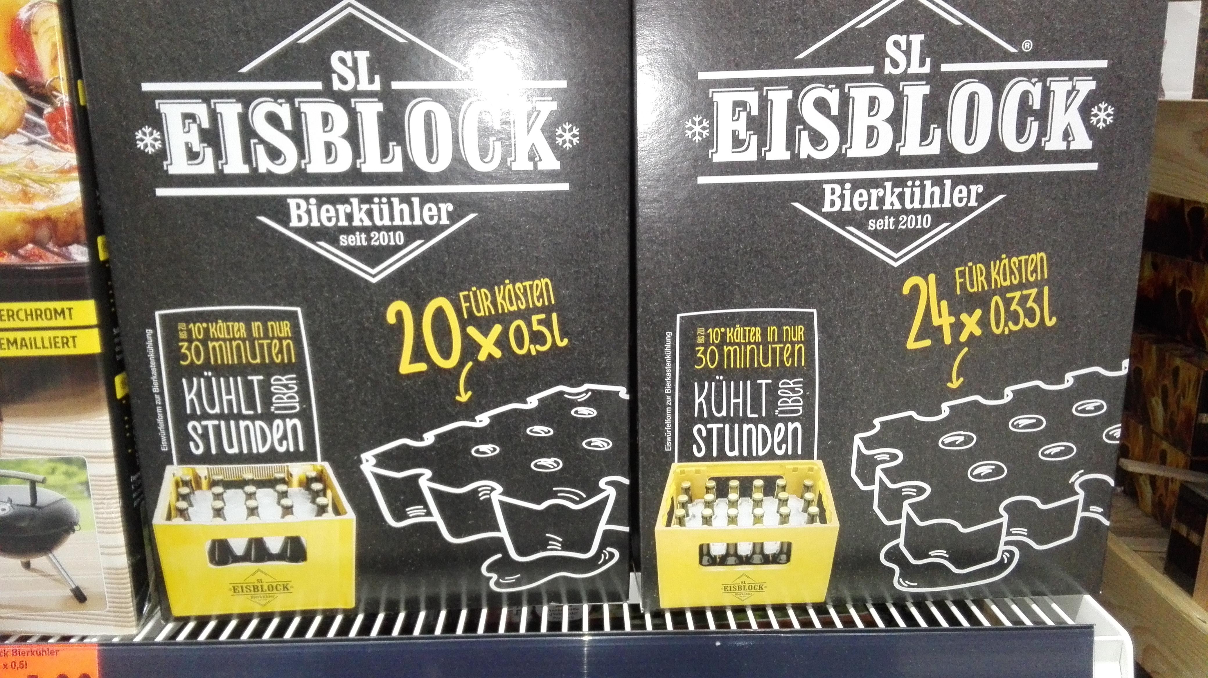 [LOKAL Kaufland Fellbach Merowingerstr.] SL Eisblock Bierkühler 0,33L & 0,5L je 4€