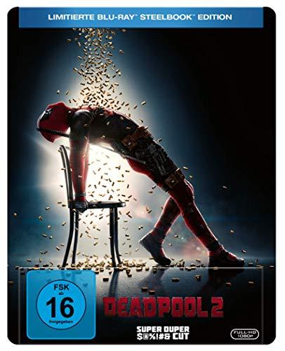 Deadpool 2 Super Duper Cut + Kinofassung Limited Steelbook Edition (Flashdance Artwork Blu-ray) für 13,69€ (Amazon Prime)