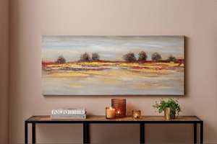 "[Tagesdeal] Ölbild ""Campana"", handgemalt 120 x 50 cm incl. Versand"