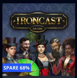 Ironcast: Die vollständige Sammlung (PS4) für 4,99 € und die Standard-Edition für 3,99 €  (PSN)