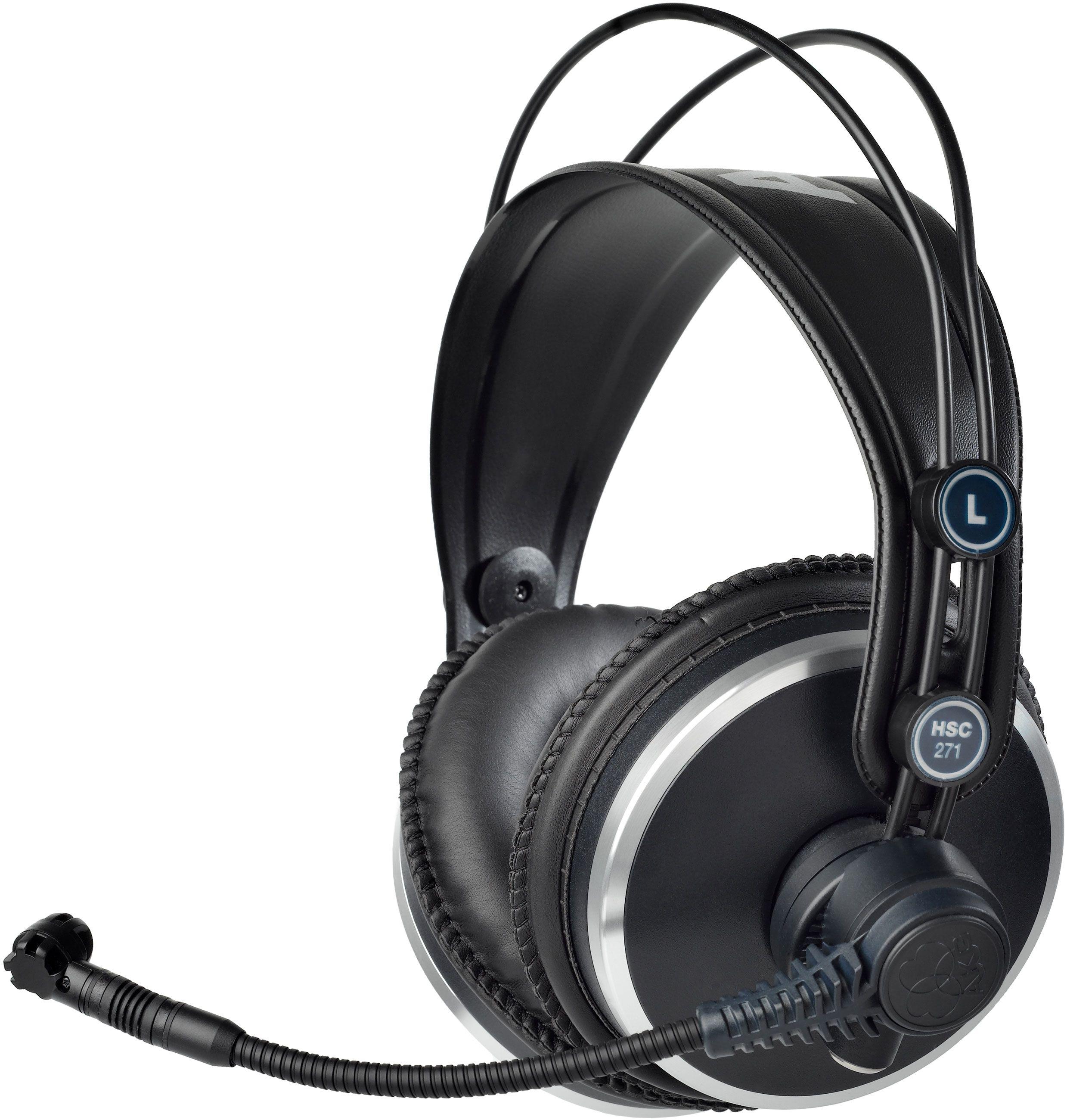 AKG HSC 271 geschlossene Kopfhörer mit Mikrofon (16Hz - 20kHz, 55Ω, 94dB bei 1mW, 200mW)