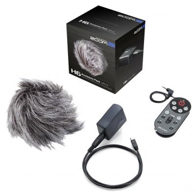 Zoom APH-6 Zubehörpaket für Zoom H6 / AD-17 USB-Type / Windscreen