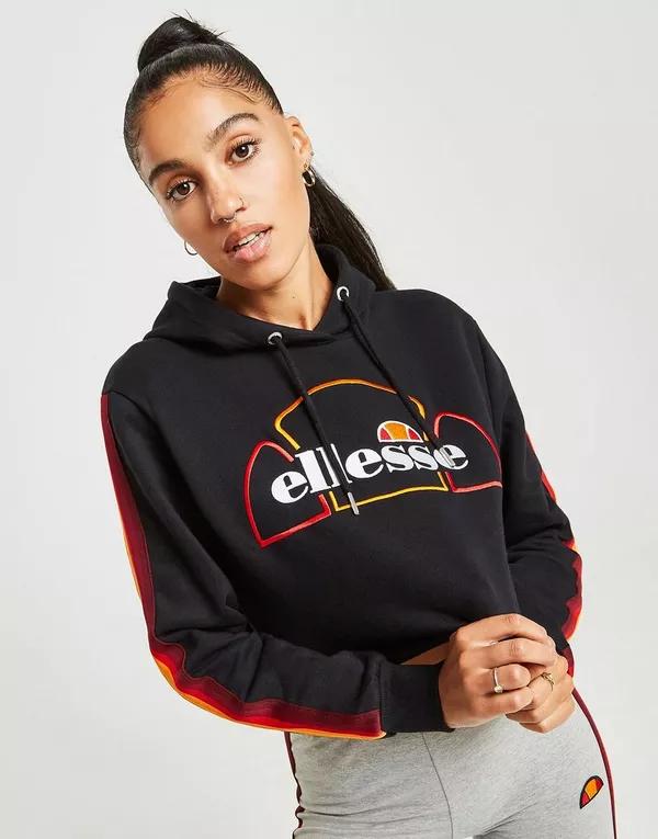 Ellesse Rainbow Tape Crop Hoodie für 30€ bzw. T-Shirt für 15€