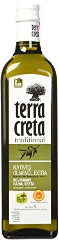 [Amazon Prime Blitzangebot] Terra Creta Kolymvari Olivenöl aus Kreta 1-Liter