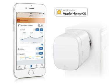 Elgato EVE Thermo Heizkörperthermostat für Apple Homekit mit Display und Bluetooth