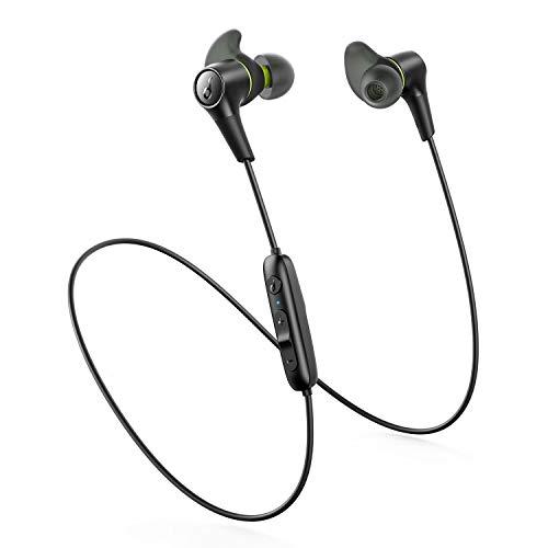 Bluetooth-In-Ears Anker Soundcore Spirit 2 (BT5, Bassverstärkung, Multipoint-Verbindung, ~14h Akku, USB-C, Mikrofon, wasserdicht nach IP68)