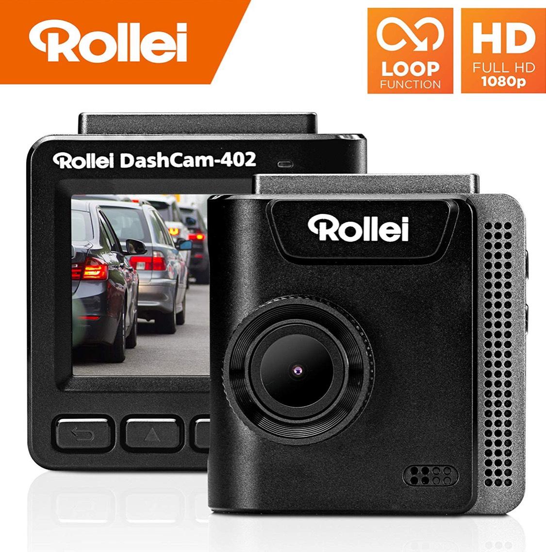 Rollei Dashcam 402 mit GPS und G-Sensor