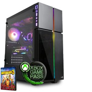 [Agando] Gaming PC: Ryzen 5 2600, RX 5700 XT, 16GB 3200MHz RAM, 240GB NVMe, B450, Win 10 (konfigurierbar, 913€ mit 3600 und Sapphire Pulse)