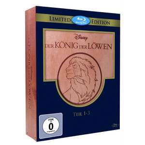 Der König der Löwen 1-3 - Trilogie (Holzbox) [Blu-ray] [Limited Edition] für 33,97€ @Amazon