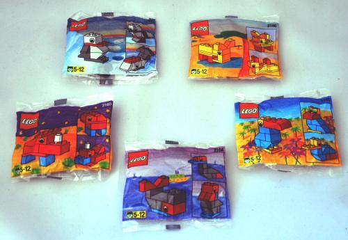 Lego Basics Tiere – 5 Sets jetzt für 8,90 € (1,78 € pro Tütchen)