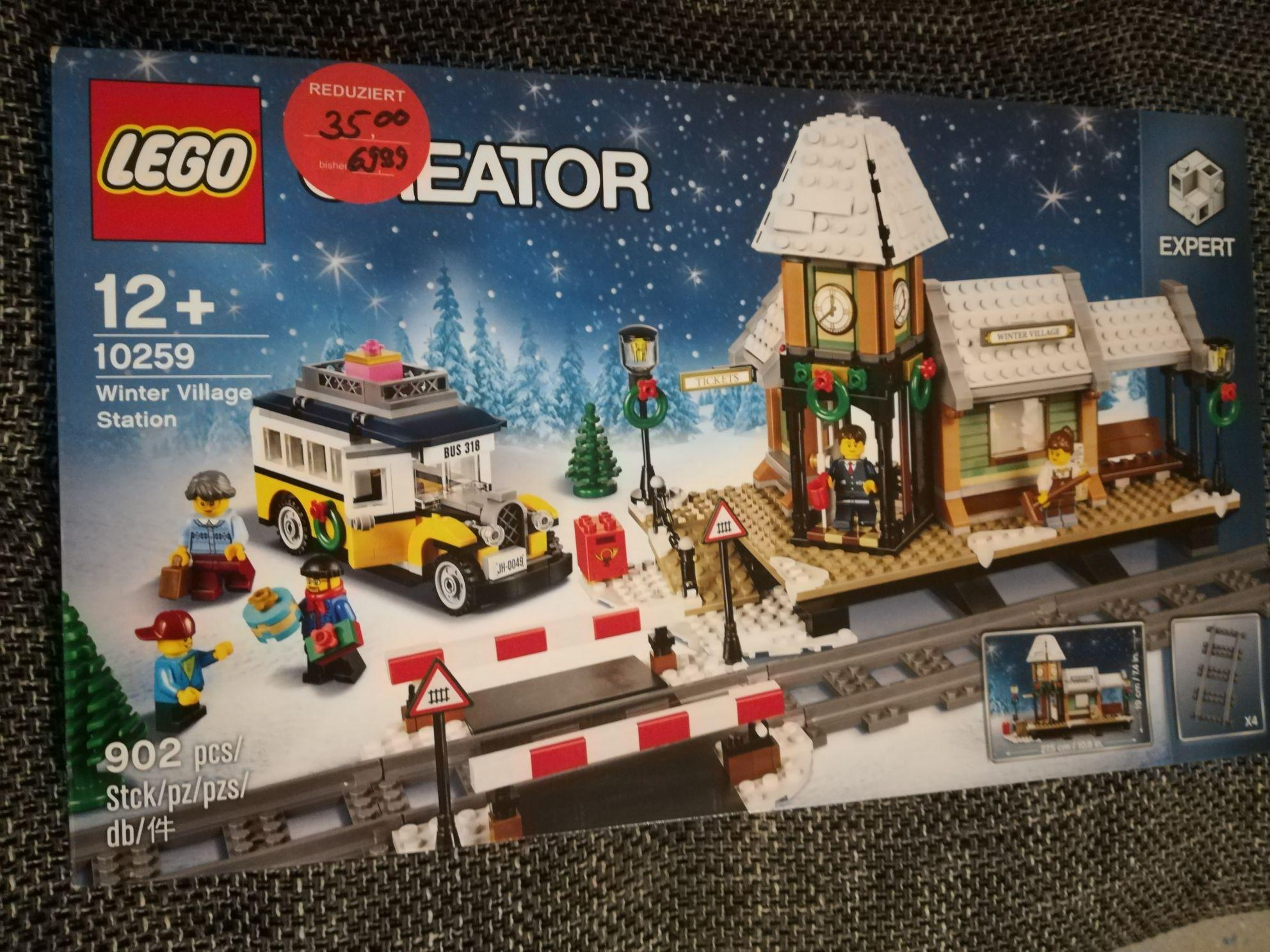 [Lokal, Müller Bad Saulgau] Lego 10259 - Winter Village Station