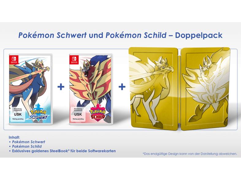 Pokémon Schwert & Pokémon Schild Doppelpack [Nintendo Switch] - Media Markt Club Aktion