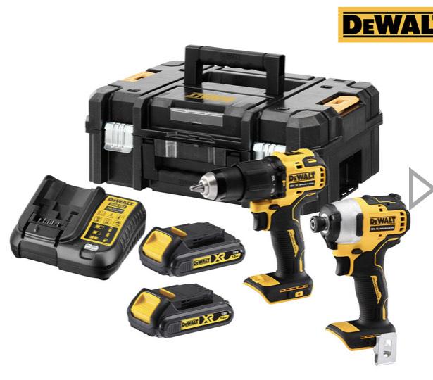 DeWalt Kombiset (DCD709 + DCF809)