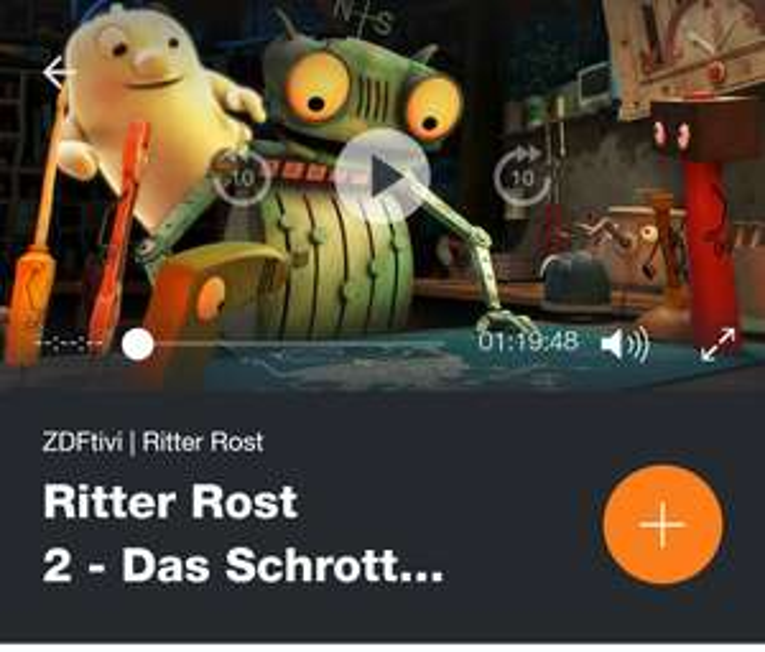 Ritter Rost 2 - das Schrottkomplott kostenlos in der ZDF Mediathek