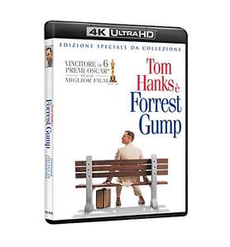 Forrest Gump ( 4K Blu-Ray + Blu-ray )