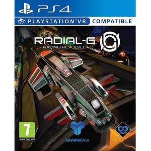 Radial-G: Racing Revolved (PS4) [Coolshop]