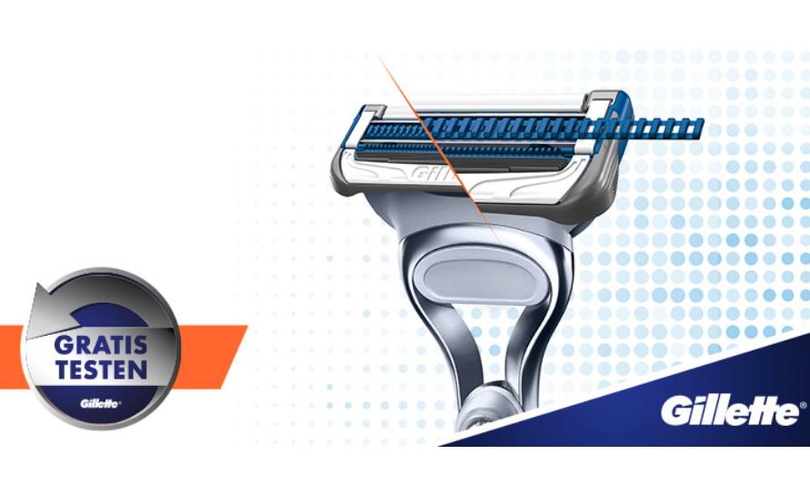 Gratis testen: Skinguard Sensitive Gillette