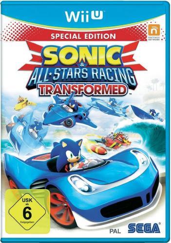 Sonic All Star Racing Transformed LE für Wii U - 34,39 EUR !! (+evtl. 2,40% qipu)  --> voelkner.de