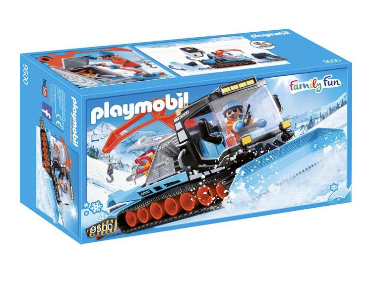Playmobil Pistenraupe 9500 incl. Versand [ real & Amazon Prime ]