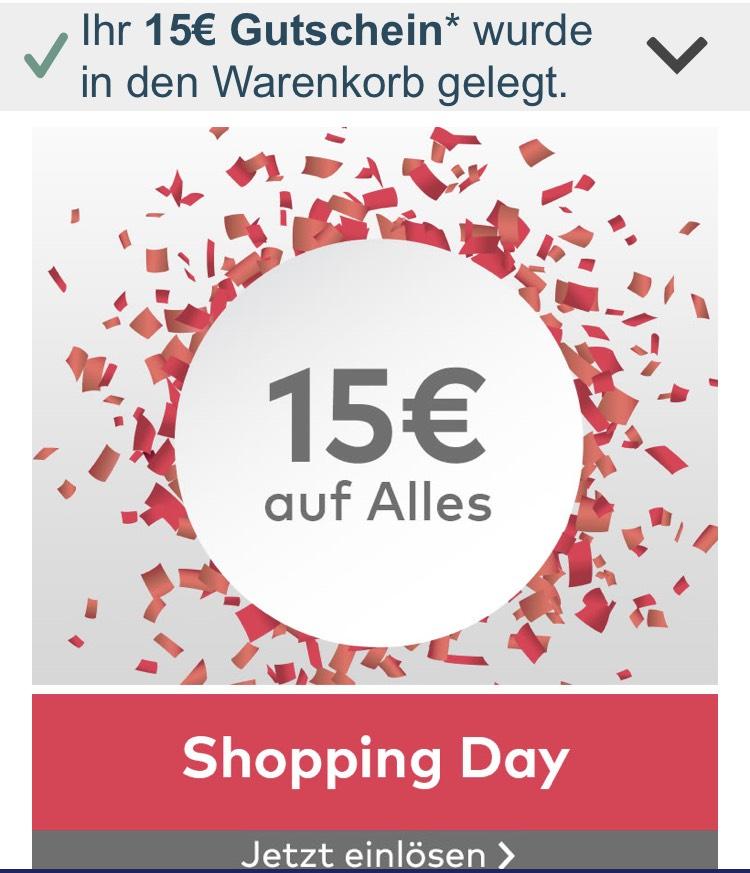 15€ Gutschein auf alles bei Quelle 60€ MBW
