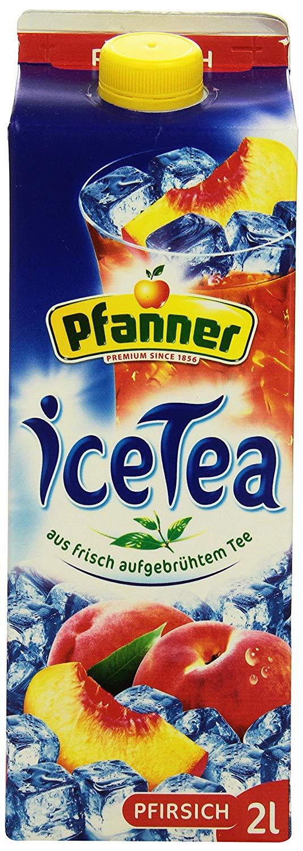 (Tegut + Coupies) 2 x 2 Liter Pfanner Eistee Pfirsich oder Lemon für 1,48€