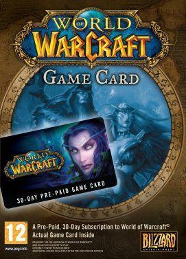 World of Warcraft 30 day time card EU für 11,54€ bei Gamivo